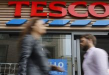 Tesco, Outperforms, shopping, grocery, sales, profits