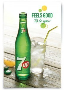 7up(R) ushers in refreshing new era with new visual identity and global campaign celebrating up & coming originals. #FeelsGoodToBeYou. (PRNewsFoto/PepsiCo)