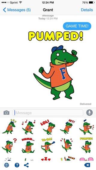 Swyft Media Emoji Keyboard Croc