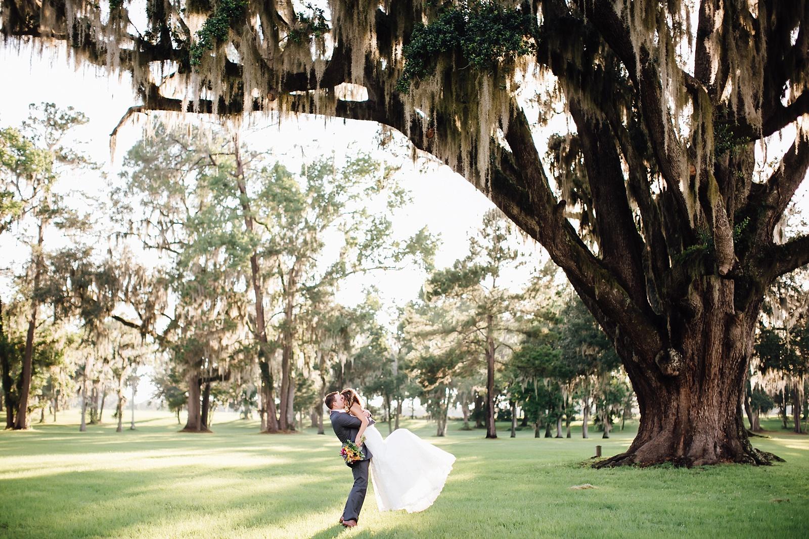 Amber Brian Santa Fe River Ranch Wedding Alachua FL