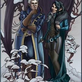 Snowy Flirt