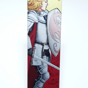 La Combattante – The Fighter Metal Bookmark