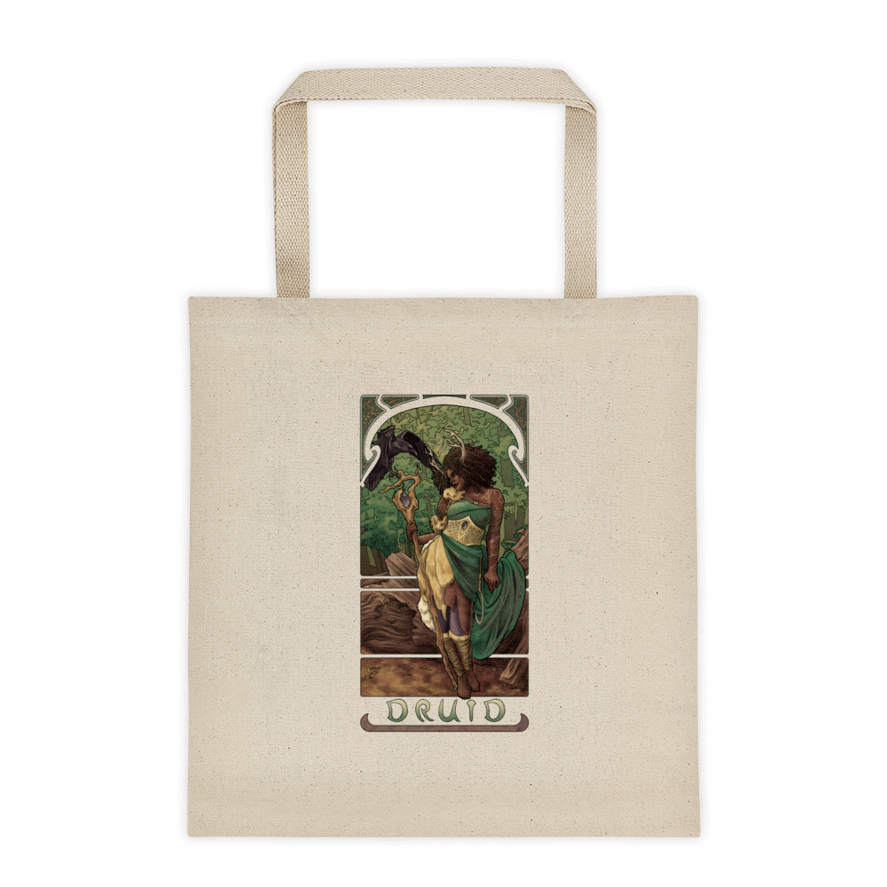 La Druide – The Druid Tote bag
