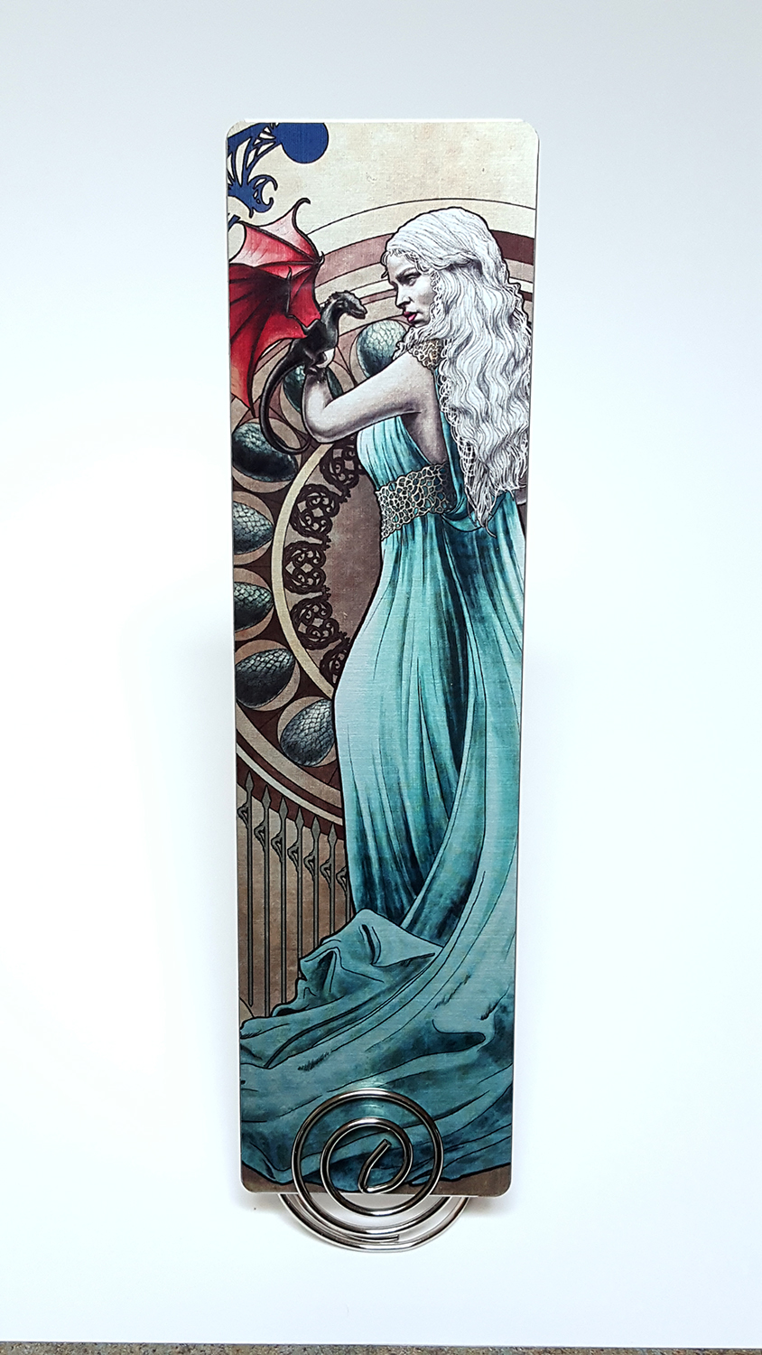 Mother of Dragons Metal Bookmark