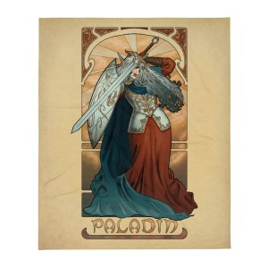 La Paladin – The Paladin Throw Blanket