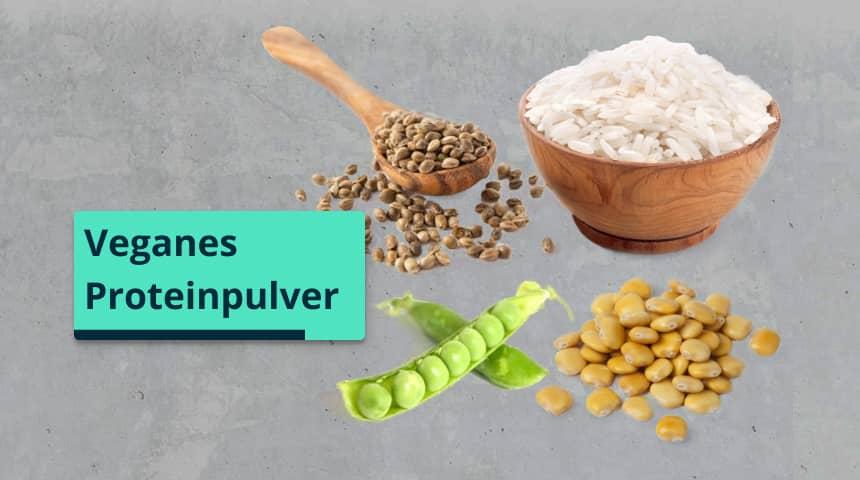 Proteinpulver vegan