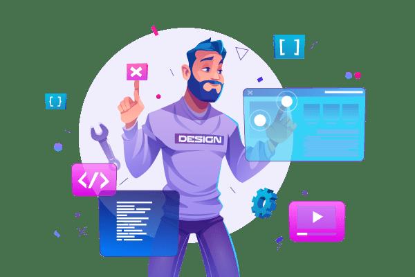 Web designers Elementor Brizy experts