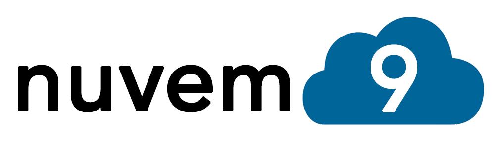 Nuvem9 logo white