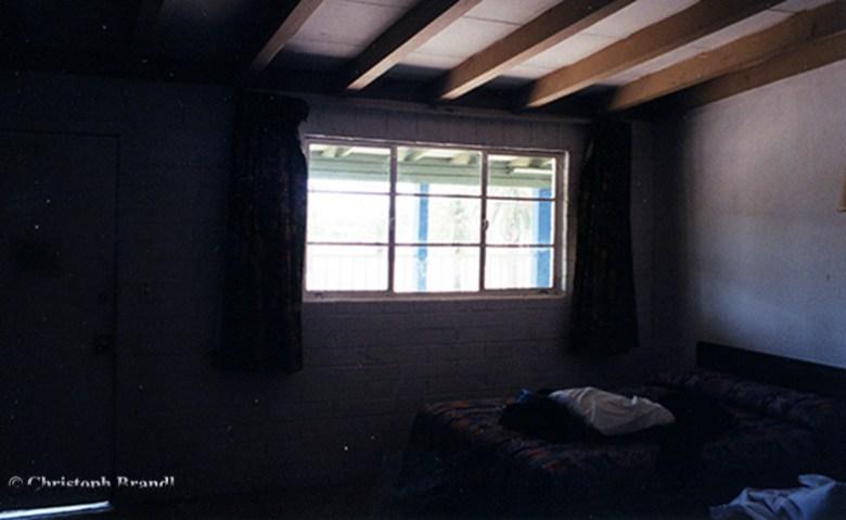 1_Schlafkoje vor der Tatort-Besichtigung