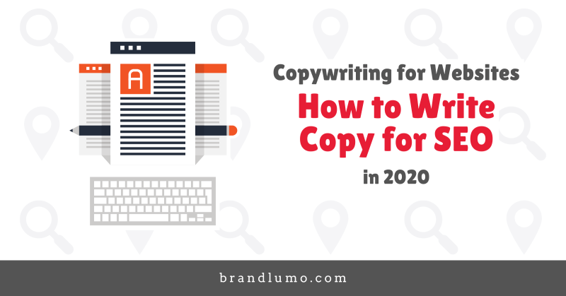 Website Copywriting - How to Write Copy for SEO Featured Image