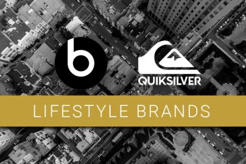 Lifestyle brands. The logos for Beats and Quiksilver.
