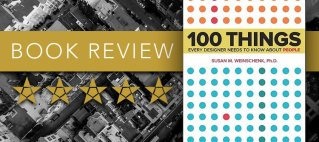 Book review. Five stars. 100 Things Every Designer Needs to Know About People.