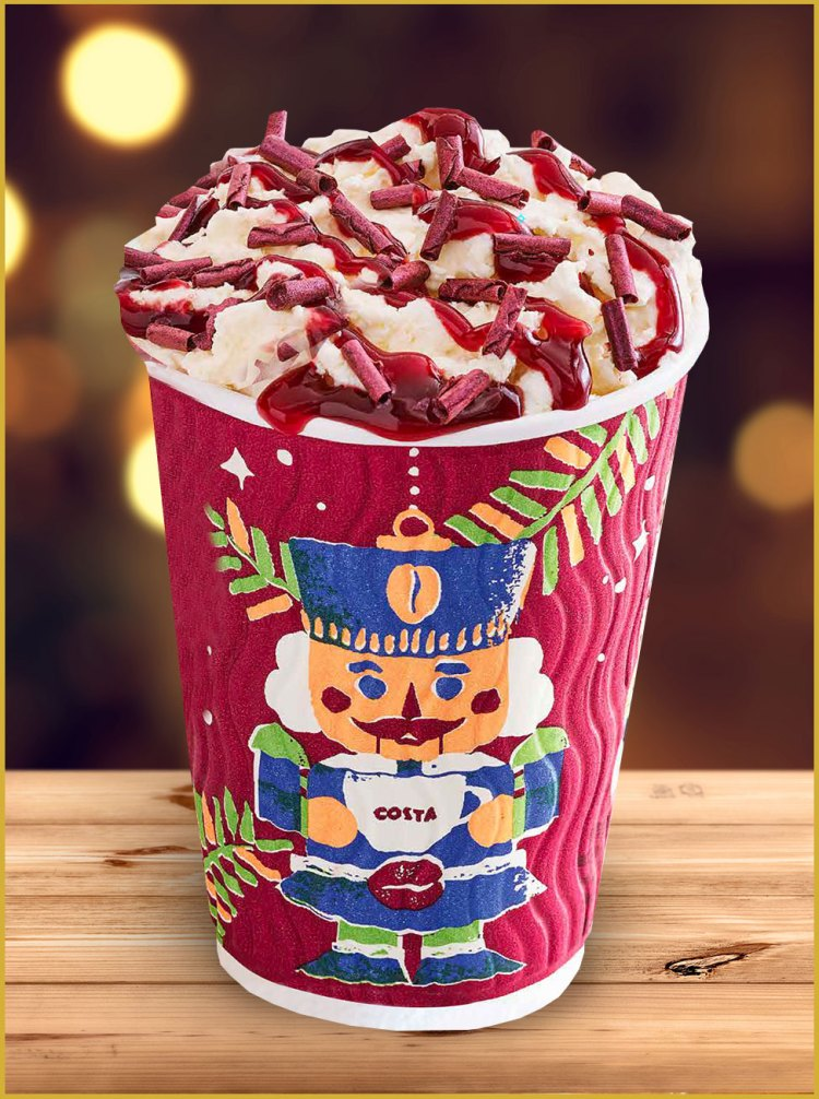 Costa Coffee Holiday Cup for 2017