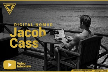 Interview with digital nomad Jacob Cass of Just Creative. Video interview.