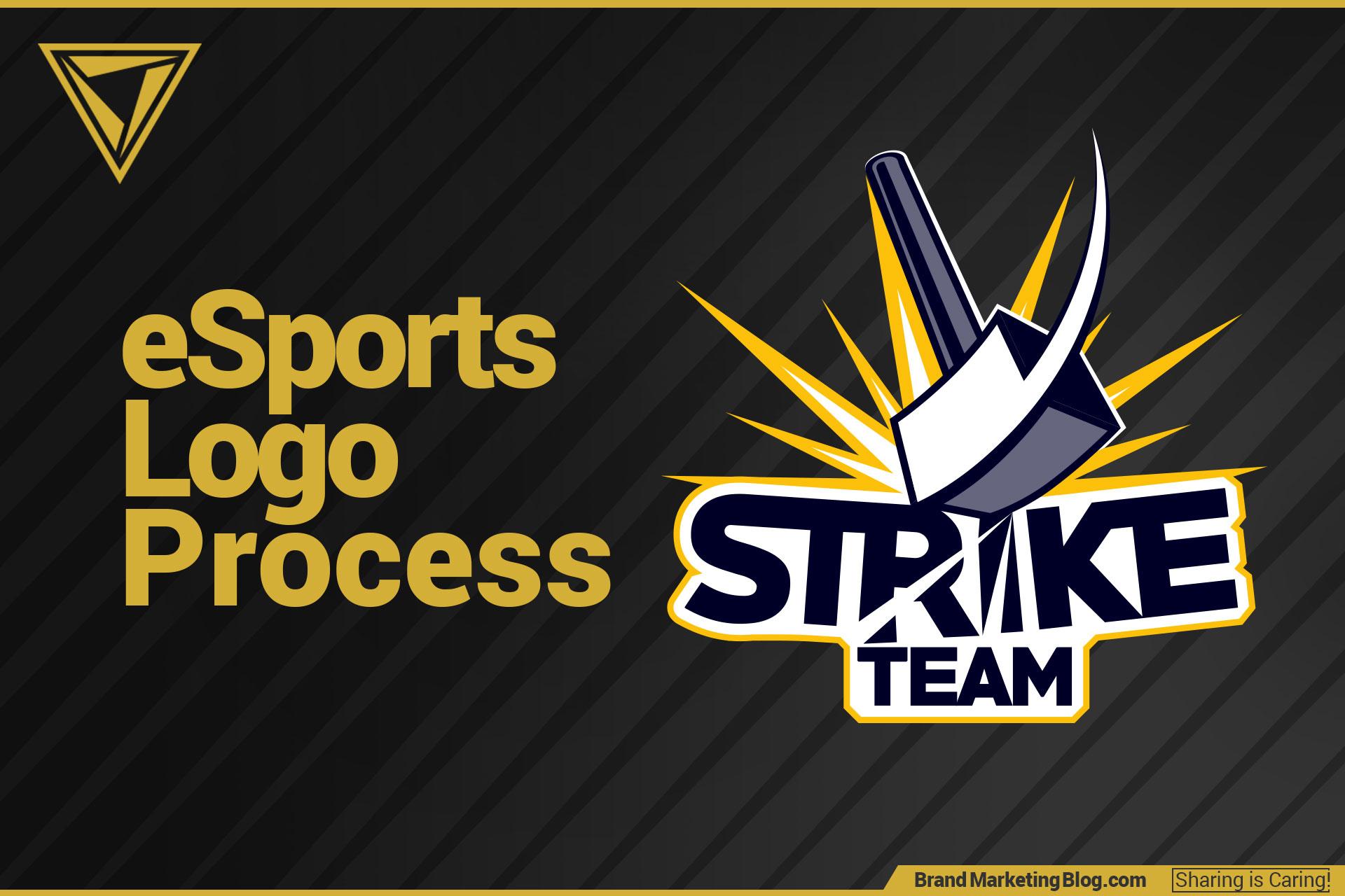 esports logo design process