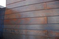 Brandner Design Floating Steel Wall Panels