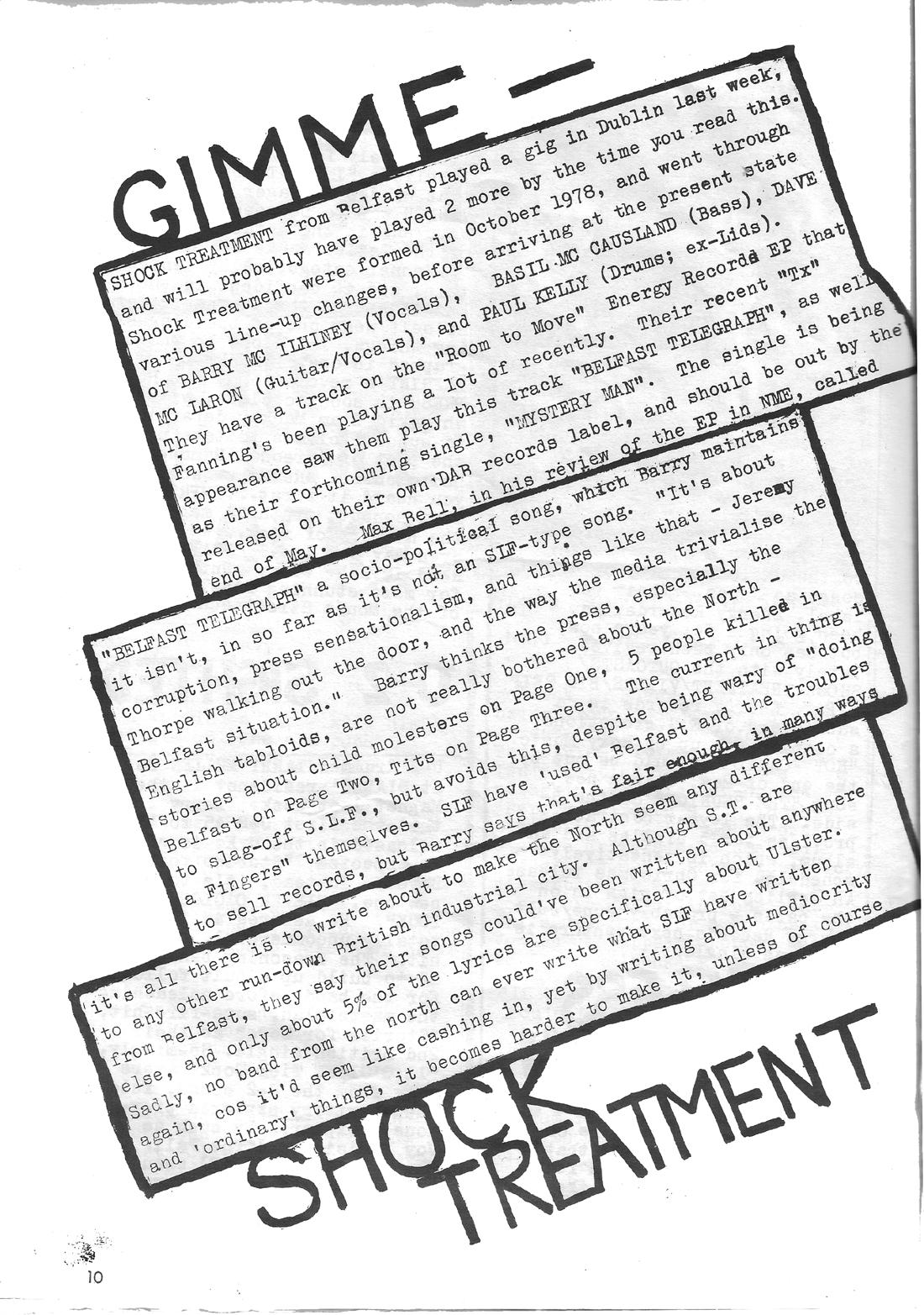 Imprint Fanzine