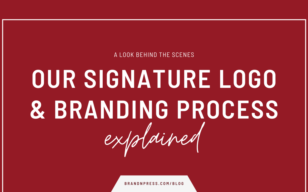 A Look Into Our Signature Logo & Branding Design Process