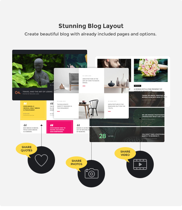 Brando Responsive and Multipurpose OnePage WordPress Theme - 16