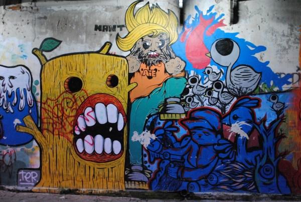 Graffiti Monster Characters