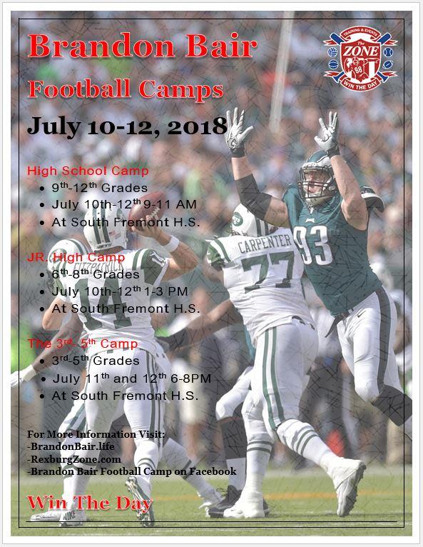 2018 camp flyer