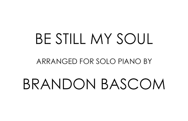 Brandon Bascom Arrangements