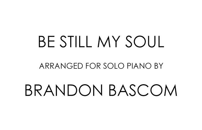 Brandon Bascom Arrangements