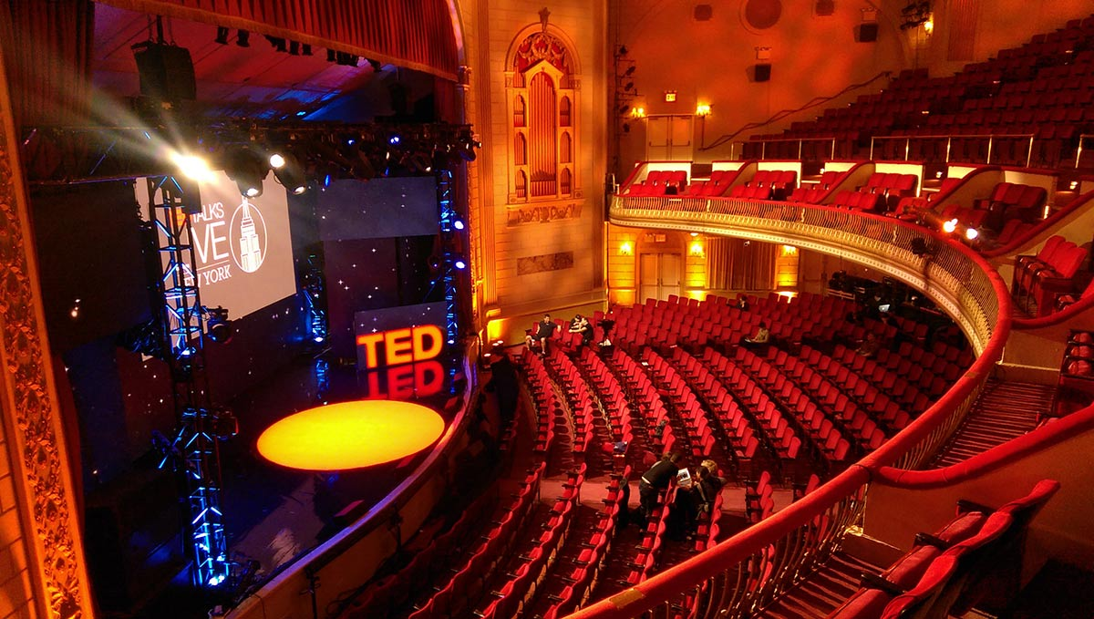 TED Talks Live Set Graphics K Brandon Bell Digital