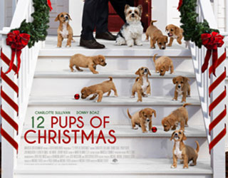 12 Pups of Christmas premieres on December 21st on ION Channel!