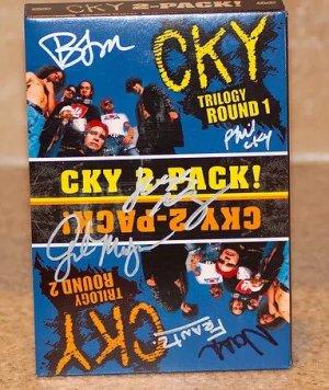 Brandon Novak CKY 2-PACK Autographed DVD
