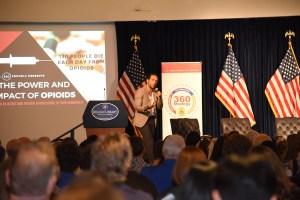 Brandon Novak at DEA 360 Power & impact event