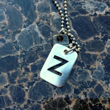 necklace_dogtag_z_silver