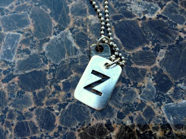 necklace_dogtag_z_silver