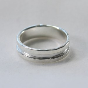 ring_silver_band_custom_hammered