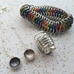 Assortment of Handmade Jewelry by Brandon Rubin