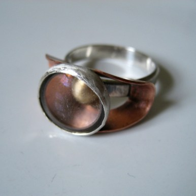 Ore_examiners_ring_copper_silver_glasslens_front