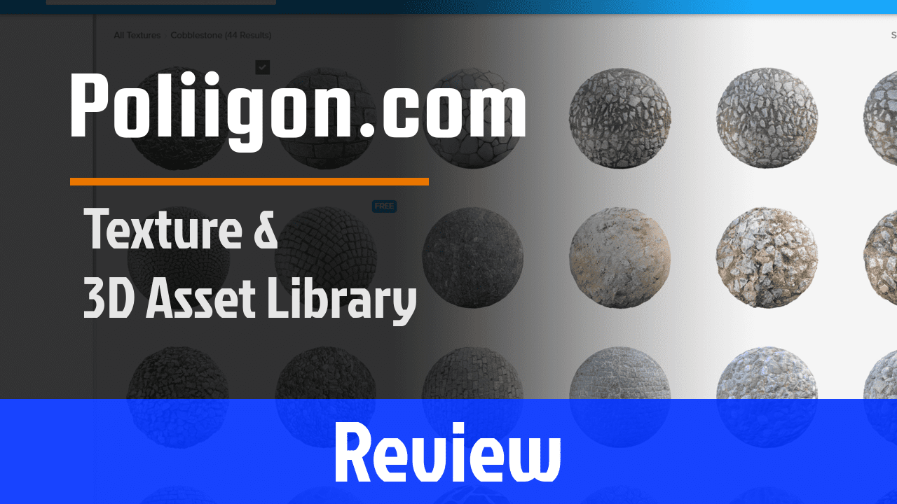 Poliigon Texture and Asset Review