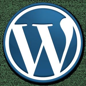WordPress iPhone icon