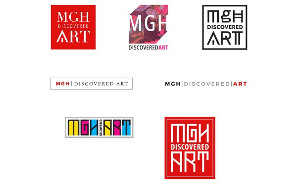 Mgh Discovered Art Logo And Business Cards - Brandora Collective