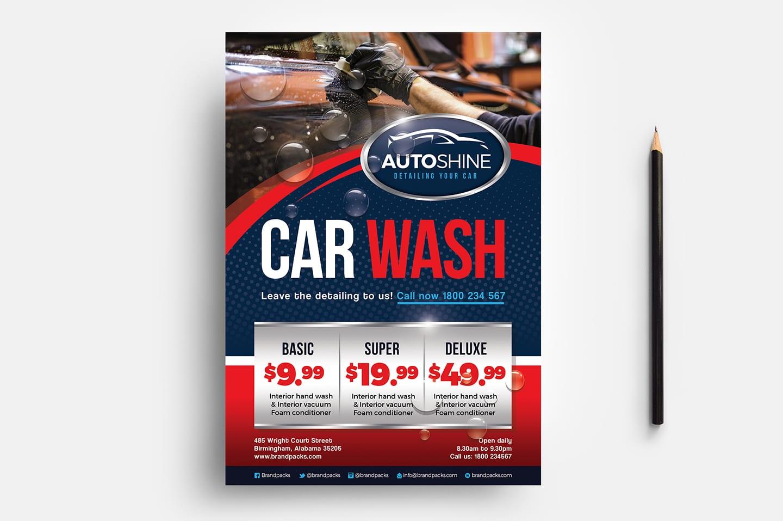 free car wash templates