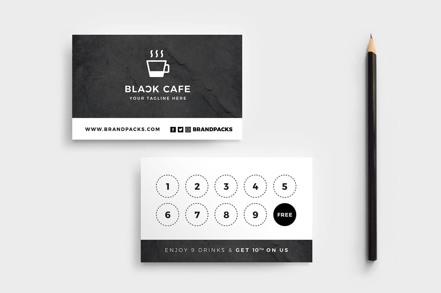 loyalty card template free