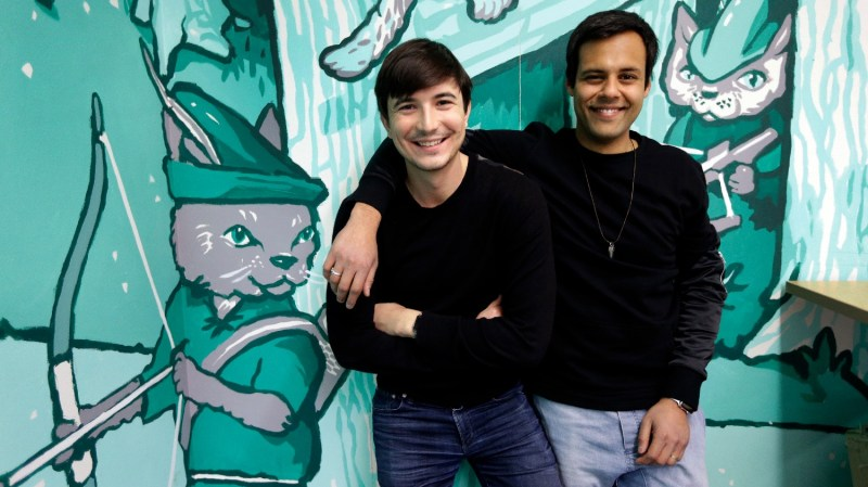 Vladimir Tenev and Baiju Bhatt, Founders Robinhood