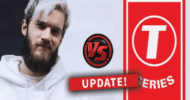 Pewdiepie vs T-series Epic Battle