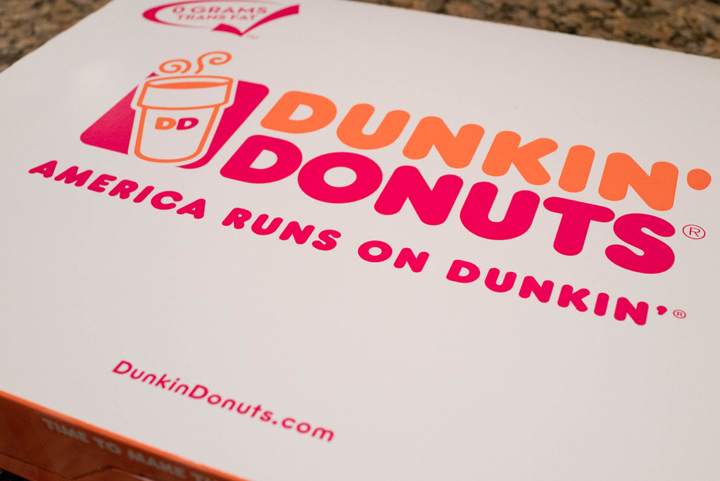 business slogan of Dunkin donuts