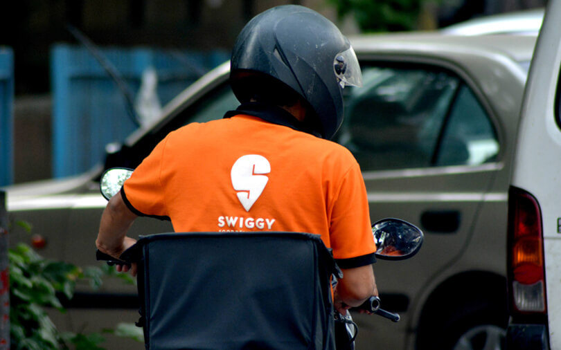 Swiggy delivery Guy