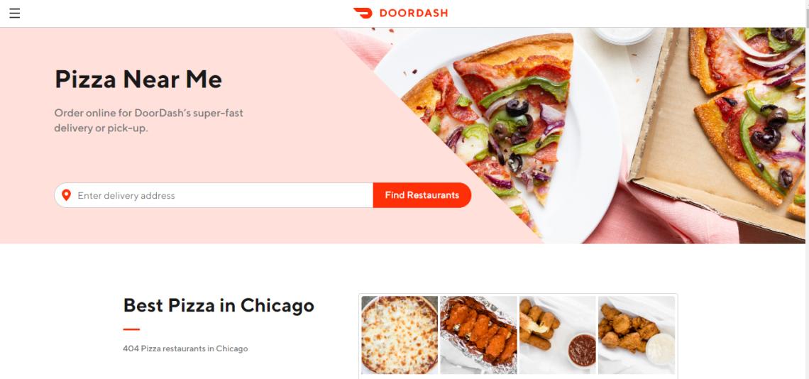 order food from doordash