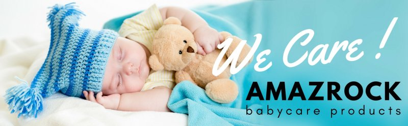 Amazrock Babycare Products | Soft 100% Cotton Muslin Swaddle Blanket Baby - We care !