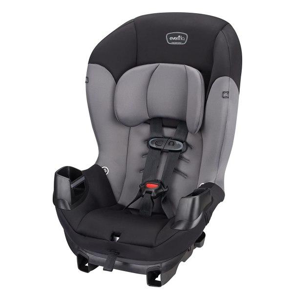 Evenflo Sonus Convertible Car Seat, Charcoal Sky