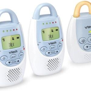 VTech BA72212BL Blue Audio Baby Monitor