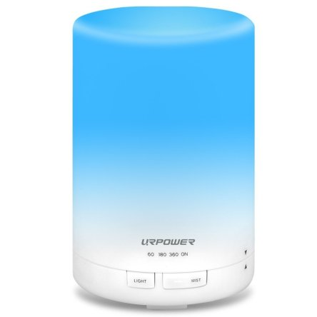URPOWER 2nd Gen 300ml Aroma Essential Oil Diffuser